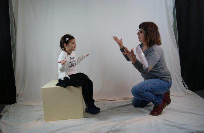 Parlem amb… …Valeria García, 5 anys, actriu olesana