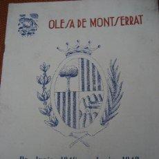 Junio: mes de festejos, Santa Oliva, Fiesta Mayor…