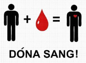 Si tens sang…