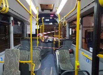 Desde el bus: confinamiento