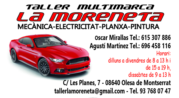 "Taller Multimarca ""La Moreneta"""